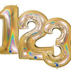 Jumbo Foil Number Balloon