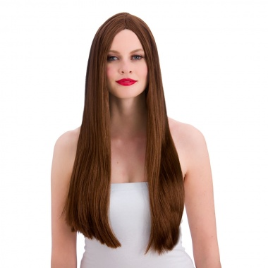 EW-8002 Long Brown Wig Chorley