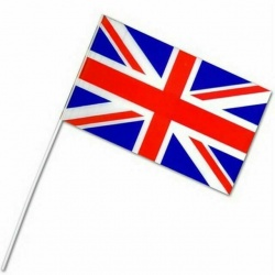 Union Jack Flag Waving Flag